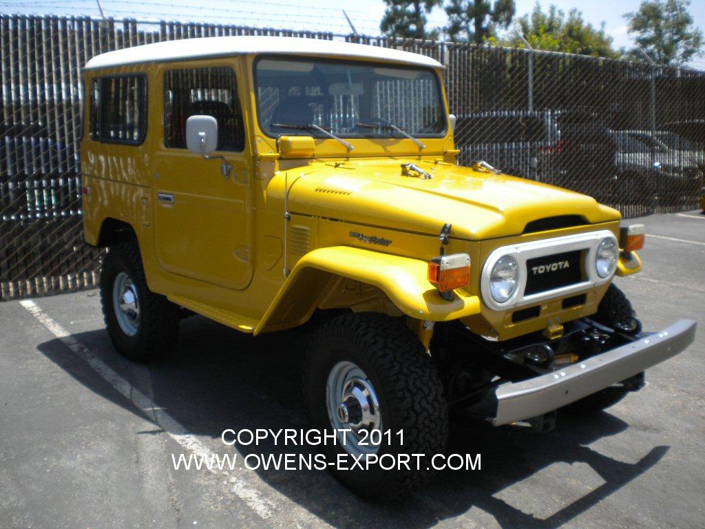 Owens Export Com 1976 Toyota Land Cruiser Fj40